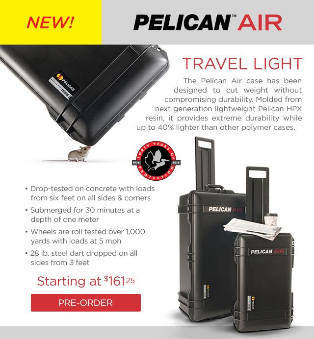 Pelican Air Cases