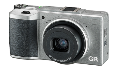 Ricoh GR-II-Silver-Edition-camera