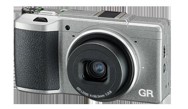 Ricoh GR-II-Silver-Edition-camera