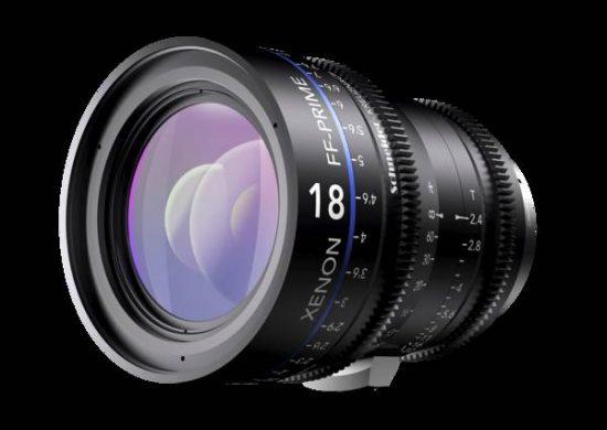 Schneider Kreuznach Xenon FF-Prime 18mm T2.4 lens