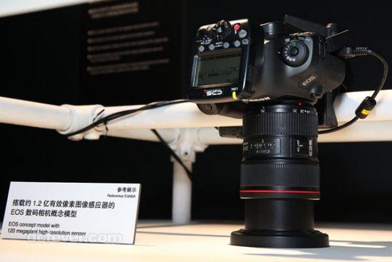 Canon 120MP camera