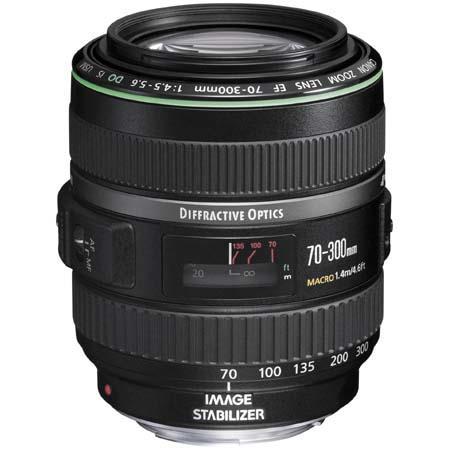 Canon EF 70-300mm f:4.5-5.6 DO IS USM lens