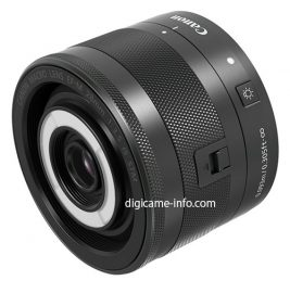 Canon EF-M 28mm f:3.5 Macro IS STM lens 2