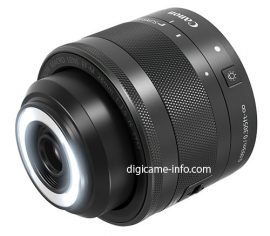 Canon EF-M 28mm f:3.5 Macro IS STM lens 3