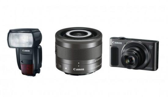 Canon Speedlite 600EX II-RT EF-M 28mm f:3.5 Macro IS STM PowerShot SX620 HS announced