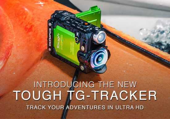 Olympus Stylus TG-Tracker action camera
