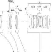 Sigma 70-200mm f:2.8 DG OS HSM Sports lens patent