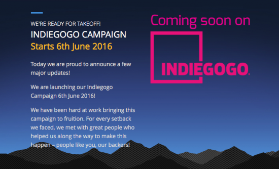 TinyMos Tiny1 camera project will be available for funding on Indiegogo