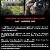 Fuji X-T2 camera announcement date
