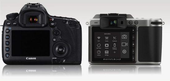 Hasselblad X1D vs Canon 5DS R 2