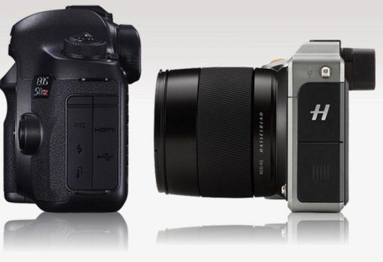 Hasselblad X1D vs Canon 5DS R 4