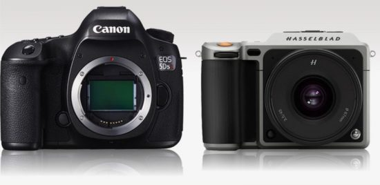 Hasselblad X1D vs Canon 5DS R