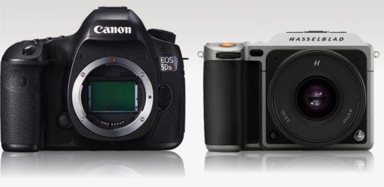 Hasselblad X1D vs Canon 5DS R