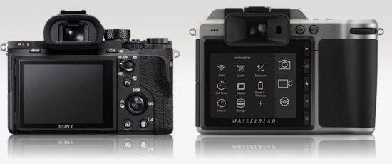 Hasselblad X1D vs Sony A7r II 1