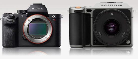Hasselblad X1D vs Sony A7r II 2