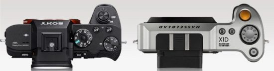 Hasselblad X1D vs Sony A7r II 4