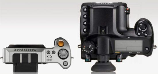 Hasselblad X1D vs. Pentax 645D