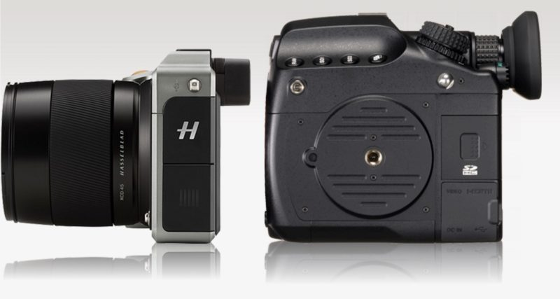 Hasselblad X1d Size Comparison With Sony A7r Ii Canon 5ds