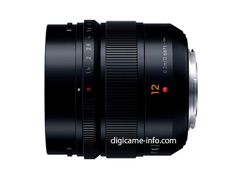 Panasonic Leica DG Summilux 12mm f:1.4 ASPH lens