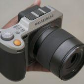 X Hasselblad X1D medium format mirrorless camera