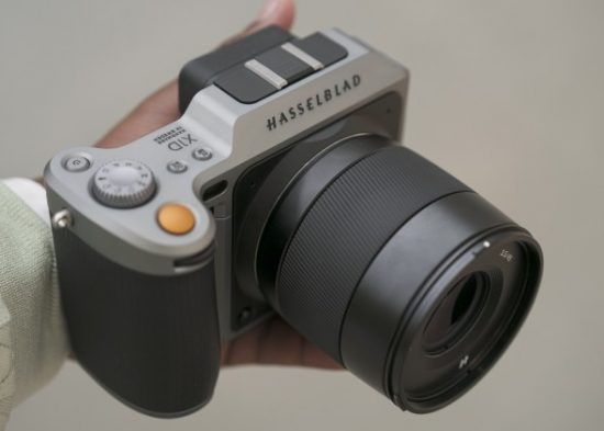 X Hasselblad X1D medium format mirrorless camera