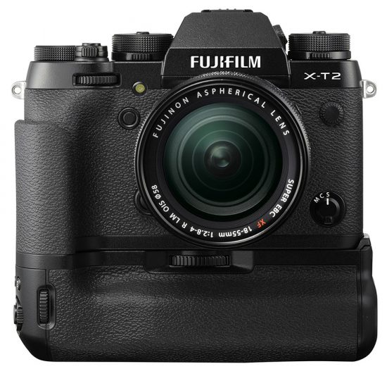 Fuji-X-T2-camera-with-external-battery-grip
