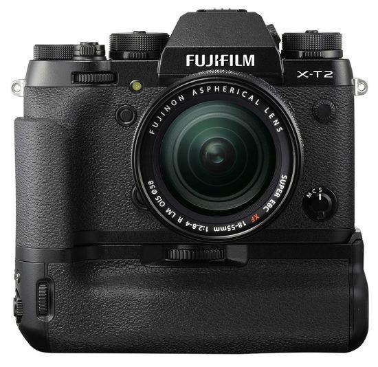 Fuji-X-T2-camera-with-external-battery-grip