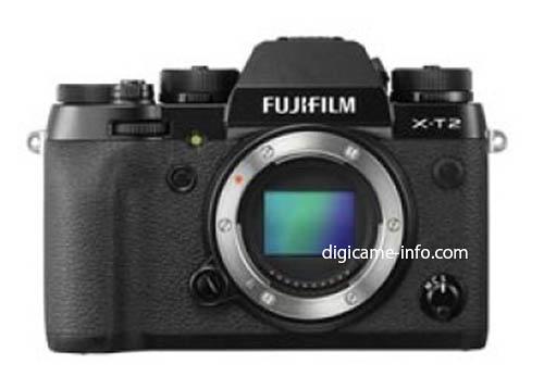 Fuji X-T2 camera