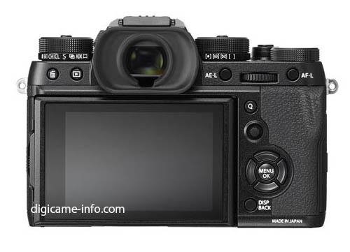 Fuji X-T2 mirrorless camera 1