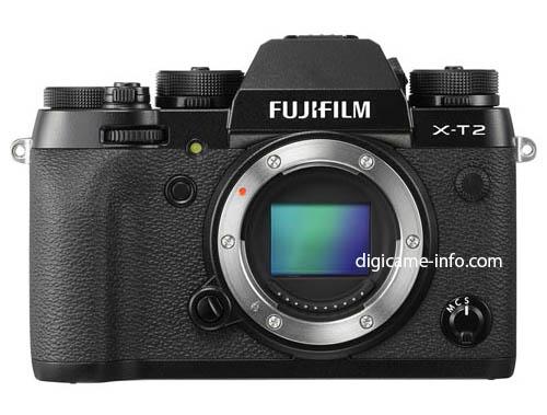 Fuji X-T2 mirrorless camera 3