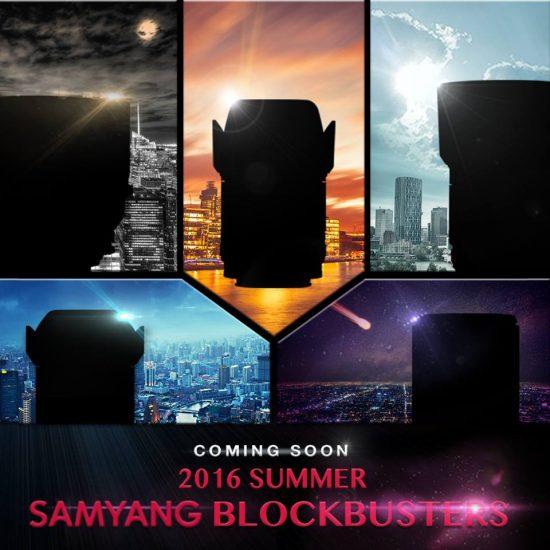Samyang lens teaser rumor