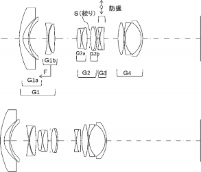 Tamron 10-24mm f:3.5-4.5 DiII VC USD lens patent