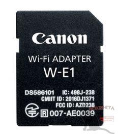 Canon Wi-Fi adapter W-E1
