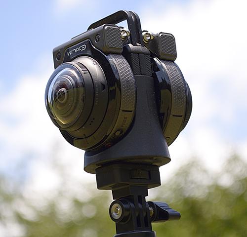 Casio EX-FR200 camera 360 degrees setup