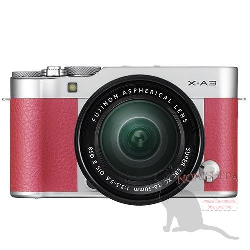 Fuji X-A3 camera 1