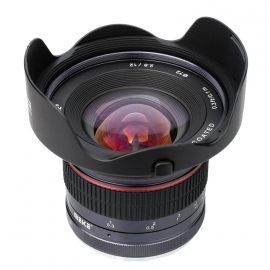 Meike 12mm f:2.8 wide angle lens for mirrorless cameras