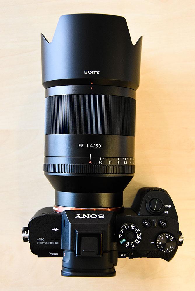 Sony Planar T Fe 50mm F 1 4 Za Lens Sel50f14z Now In