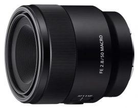 Sony-full-frame-FE-50mm-f2.8-macro-lens