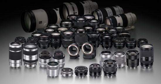 List of rumored Sony lenses