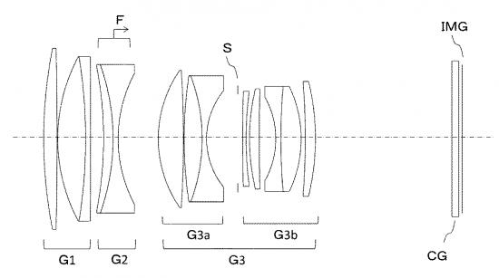 Tamron 115mm f:1.4 VC lens patent