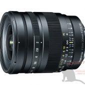 Tokina FiRIN 20mm f:2 FE MF full frame manual focus E-mount lens