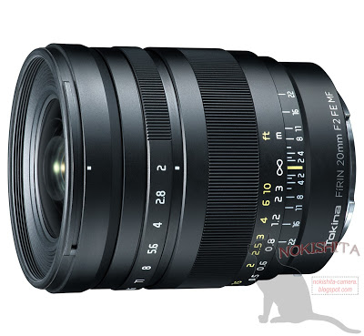 Tokina FiRIN 20mm f:2 FE MF full frame manual focus E-mount lens