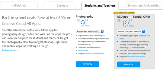 adobe-special-offers-for-students-and-teachers