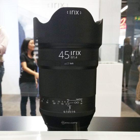 Irix 45mm f/1.4 lens