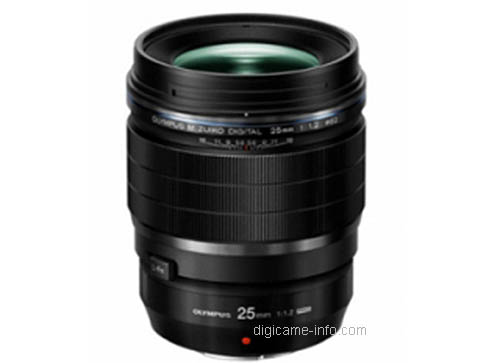 Olympus 25mm f:1.2 lens