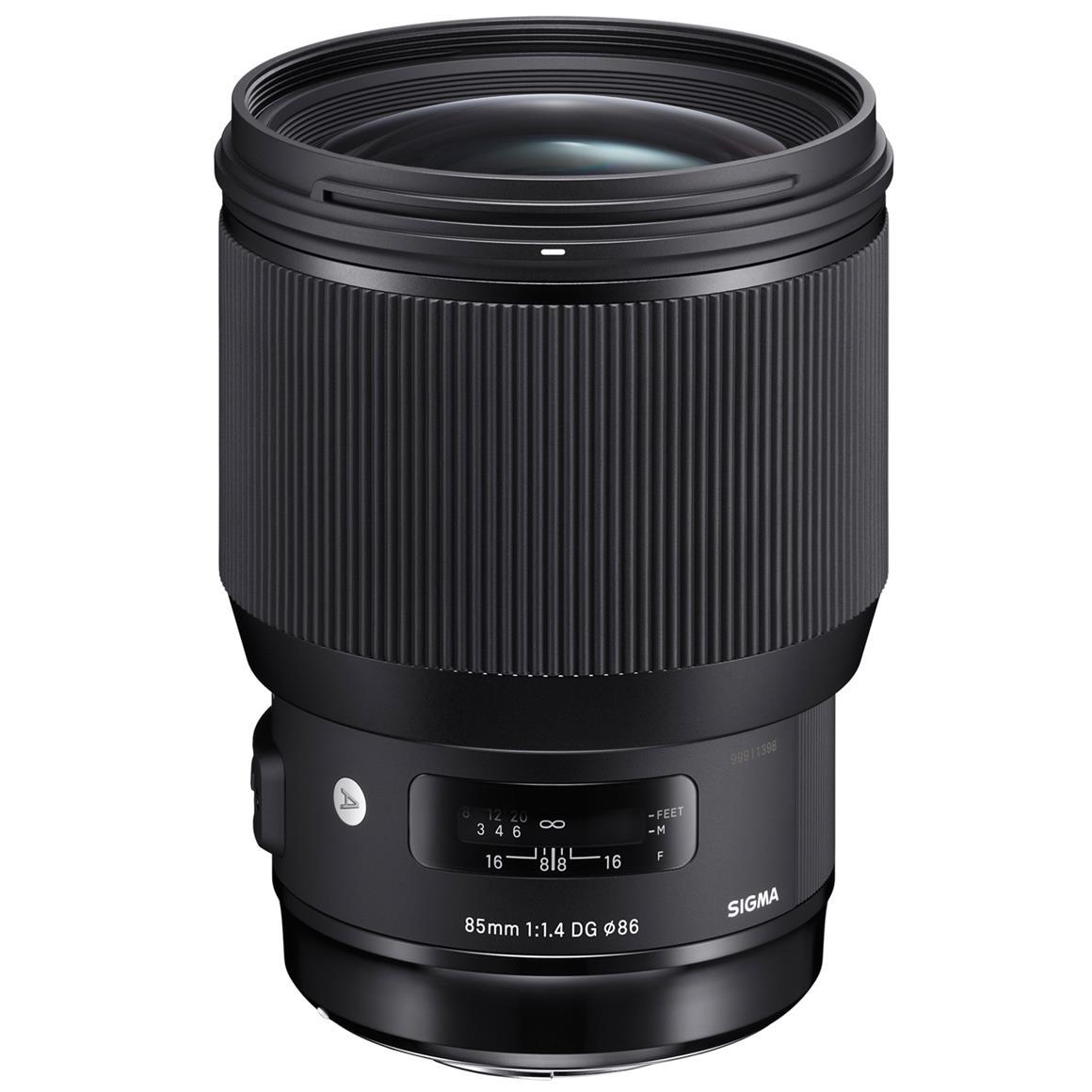 Sigma 85mm f/1.4 DG HSM Art Lens for Sony E | Sony Full