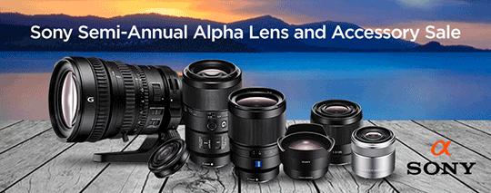 Sony-Alpha-lens-semi-annual-sale