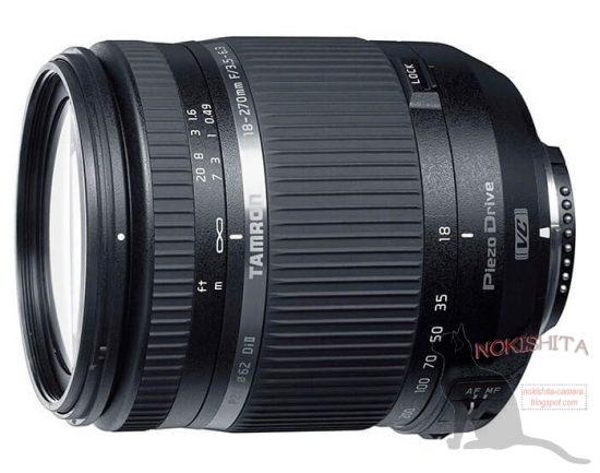 Tamron 18-270mm f:3.5-6.3 Di II VC PZD TS lens