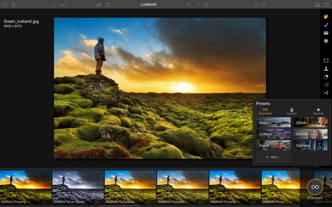 Macphun announced luminar a new photo editing solution for Programma per disegno tecnico gratis italiano