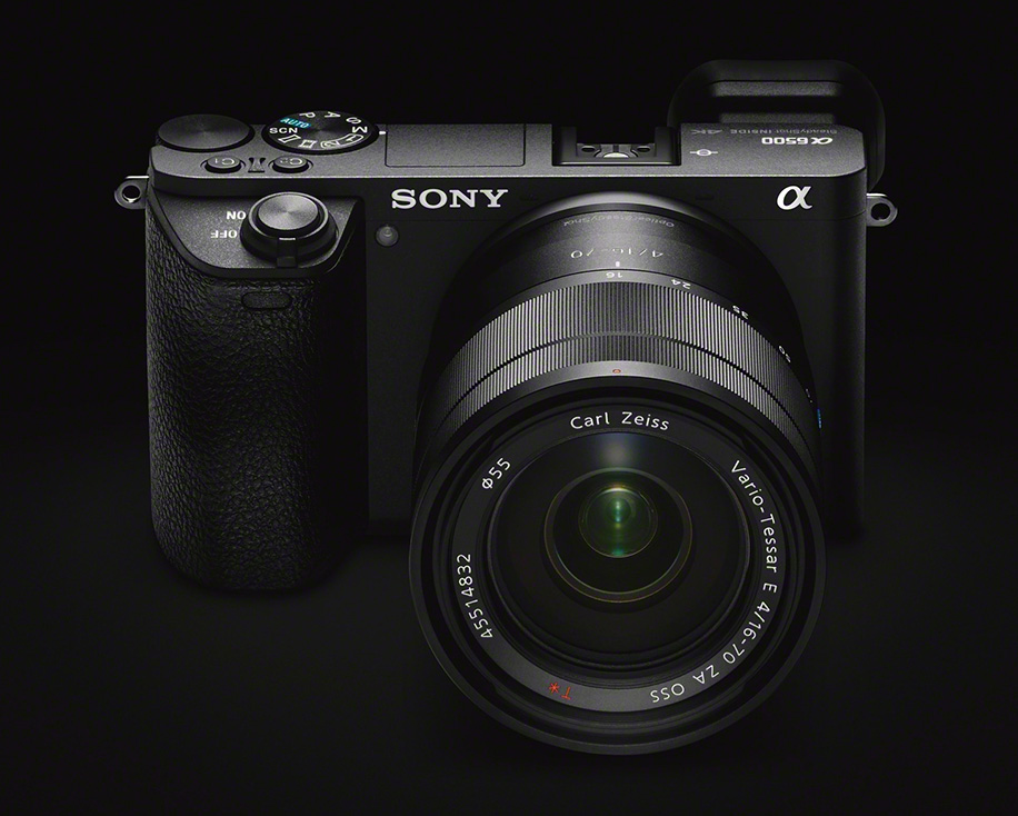 The Sony a6500 camera is now discontinued